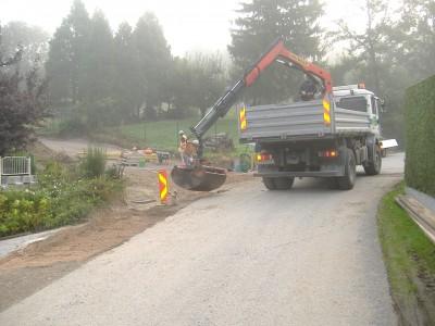 Aufschließung Haagerstraße Kanalisierung